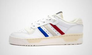 adidas Men's Originals Rivalry Low Leather Shoes White
