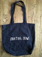 Counting Crows 2017 Vip Tour Tote Bag 17� X 15� New