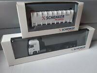 Actros L 1844   SCHENKER / DB Logistics + 30 FT Kipp Bulk-Container   Exclusiv