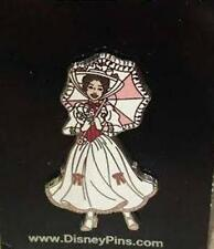 MARY POPPINS FANCY WHITE DRESS UMBRELLA DISNEY Pin 2014
