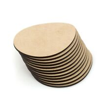 Wooden Coasters x10 MDF Plain Easter Egg Blank Craft Painting Home School Art