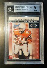 Barry Sanders NFL 🏈 2000 Donruss Pref Graded Series 1 of 1125 Beckett 9 🌟 Mint