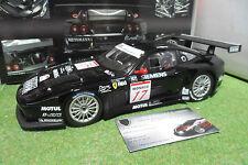Kyosho Ferrari 575 GTC Donington 2004 Echelle 1:18 Voiture Miniature - Noire (08393C)