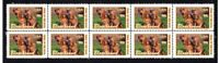 BLOODHOUND YEAR OF THE DOG STRIP OF10 MINT VIGNETTE STAMPS #4