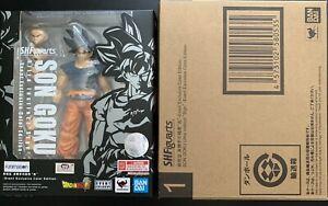Bandai S.H.Figuarts Son Goku Ultra Instinct Sign Figure Event Exclusive