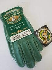 Wells Lamont Leather Work Gloves Grips Washable Suede Cowhide Womens Sz S NWT