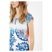 T SHIRT Desigual Sleeveless exotic Taille L Neuf !!!!