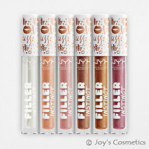 """6 NYX Filler Instinct Plumping Lip Polish Gloss - FIPLP """"Full Set"""" *Joy's*"""