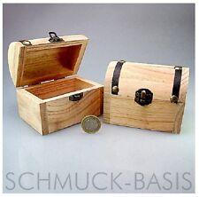 5 Stück Schatzkiste / Piratenkiste aus Pinienholz  (zum Selbstbefüllen) TOP!!!