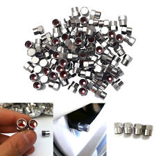 5PCS Car Motorcycle Bicycle Wheel Tire Valve Stem Screw Lid Caps Stainless Steel
