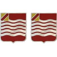 USA Army Unit Crest 15th Field Artillery PAIR (NEW)   (Army Issue) (Made in USA)