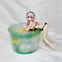 Anime Super Sonico PVC Action Figure Statue 10.5cm Model Toy Cake Decor Present
