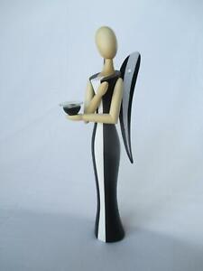 """Sternkopf-Engel """"Black Beauty"""", 24,5 cm, Design"""