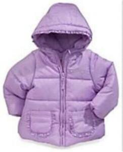 PROTECTION SYSTEM GIRLS PURPLE BUBBLE JACKET - 18 mo NEW w/TAGS