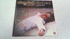 """DAVID BISBAL """"LLORARE LAS PENAS"""" CD SINGLE 1 TRACKS"""