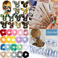 Wholesale Bow Floral Elastic Hair Band Ring Rope Tie Ponytail Holders Rubber