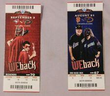 2013 Arizona Diamondbacks Ticket Stub Pick One - unused Season Ticket