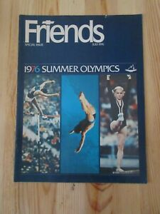 Friends Magazine Special Issue 1976 Summer Olympics Bruce Jenner Record Montreal
