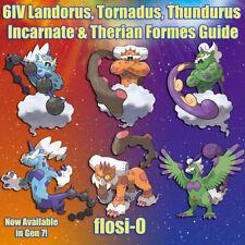 6IV Landorus, Thundurus, Tornadus Therian & Incarnate Pokemon Guide [Sun/Moon/U]