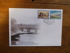 ESTONIA 2018 EUROPA STAMPS- BRIDGES SET 2 STAMPS FDC FIRST DAY COVER