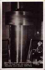 (yk2) Real Photo Postcard Grand Coulee Dam WA: Generator Shaft