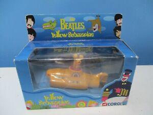 corgi beatles yellow submarine