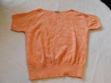 Womens ladies Keneth Too! Sweater shirt See Measurements No Size Peach GUC*