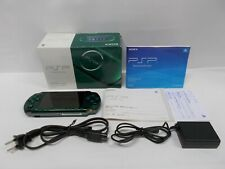 PlayStation Portable -- PSP 3000 Sprited Green -- Console. JAPAN. GAME. 293