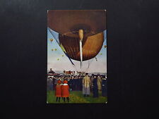 Postcard Ansichtkaart Nederland Weather Balloon Ballon to Hengelo Tuindorp 1924