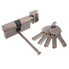 Knaufzylinder 30/30 Not+Gefahrenfunktion 60mm +5 Schlüssel Knauf Schloss