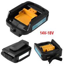 USB Power Ladegerät Adapter für MAKITA ADP05 14-18V Li-ion Akkus BL1415 BL1430