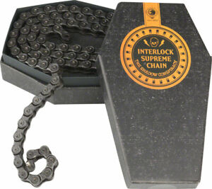"The Shadow Conspiracy Interlock Supreme Chain Sngl Spd 1/2""x1/8"" 98 Links Blk"