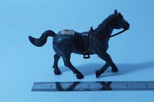 SIMBA HORSE WITH SADDLE STIRRUPS 5'' PVC FIGURE
