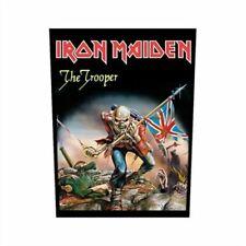 Iron Maiden Trooper Black Back Patch 29x36cm