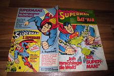 SUPERMAN / BATMAN  # 22 vom 26.10.1974 -- mit Sammelecke
