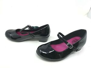 Girls SO (214396) Trapese black Mary Jane Shoes (409P)