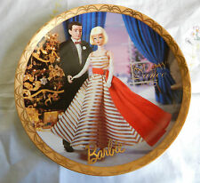 BARBIE HOLIDAY DANCE-1965 PLATE ENESCO   81/4""