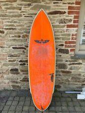 """Von Sol Surfboard Shaped by Sean Mattison 5'8"""" Quad with Fins"""