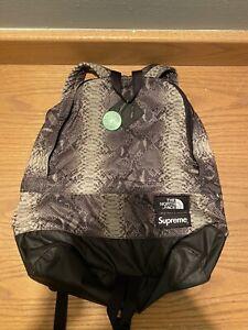 Supreme x The North Face Black snakeskin Backpack