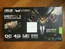 ASUS NVIDIA GeForce GTX 970 4GB GDDR5 Video Card (STRIXGTX970DC2OC4GD5)