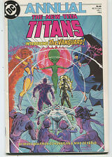 The New Teen Titans # 1 NM ANNUAL  Introducing Thje Vanguard  DC Comics CBX35