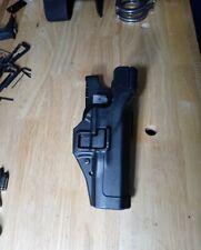 Blackhawk Level Iii Duty Holster For Glock 1722 Rh