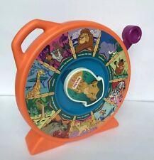 """Disney The Lion King SEE N SAY Talking Toy Orange Mattel 11"""""""