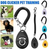 Dog Training Clicker Click Button Trainer Pet Cat Puppy E8P2 2020 Obedience M3P2