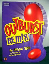 2004 OUTBURST REMIX Party Game - 100% Complete - VGC