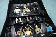 Star Wars Darth Vader Case with 31 Vintage Figures,  CASE SNAPS GOOD