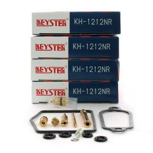 Honda CB 350 Four F 4 x Keyster Vergaser Reparatursatz Carburetor Repair Kit
