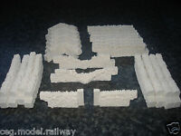 37 STONE WALLING UNPAINTED 00 GAUGE SCENERY BRAND AND NEW BOXED.