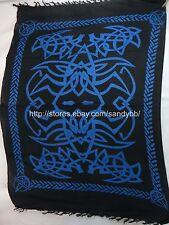 Celtic Pagan Hand-Crafted Altar Cloths Ritual Decoration black blue spider web