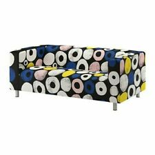 NEW Ikea KLIPPAN 2  seat sofa COVER SET in Sangis Multicolour 703.987.18